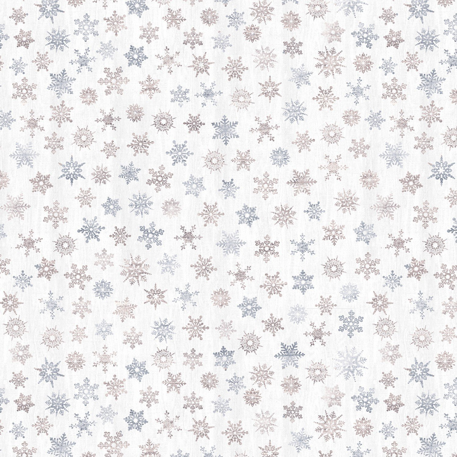 Snow is Falling Rustic Snowflakes Cream