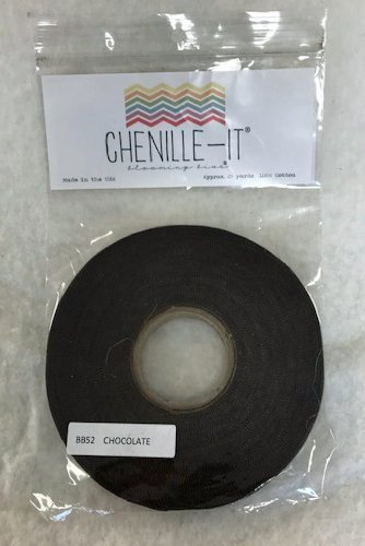 Chenille It 3/8 bias tape Chocolate