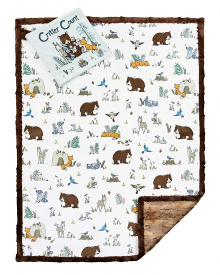 Cuddle Kit Read to Me Forest (26x40) plus Book