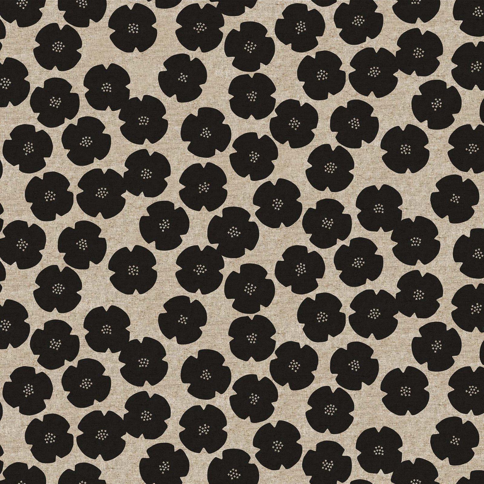 Harmony Flowers (55% linen/45% cotton)