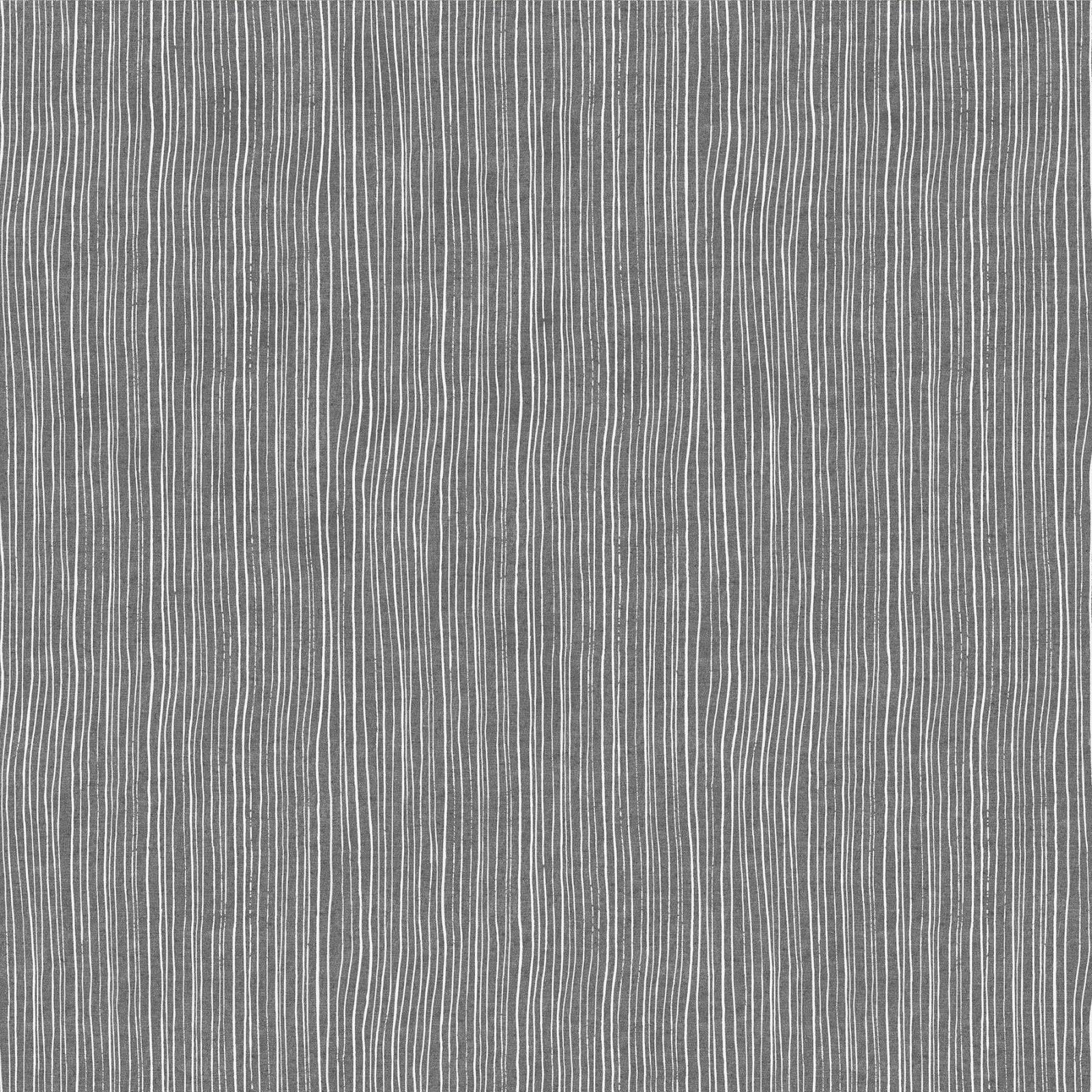Harmony Strips Gray (55% linen/45% cotton)