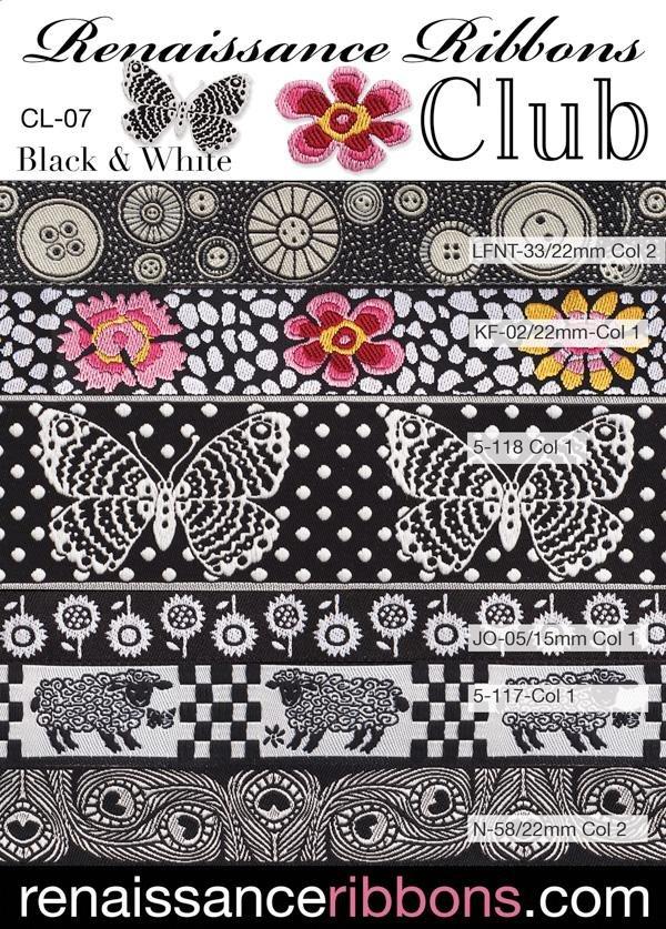 Ribbon Club - Black & White