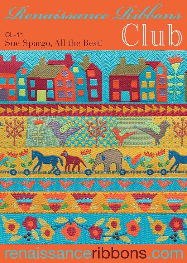 Ribbon Club-Sue Spargo Houses