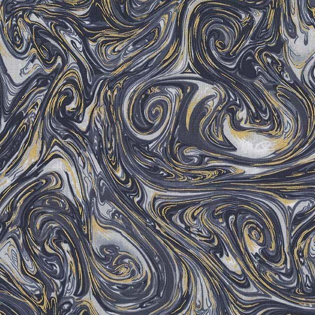 Marble with metallic Clay