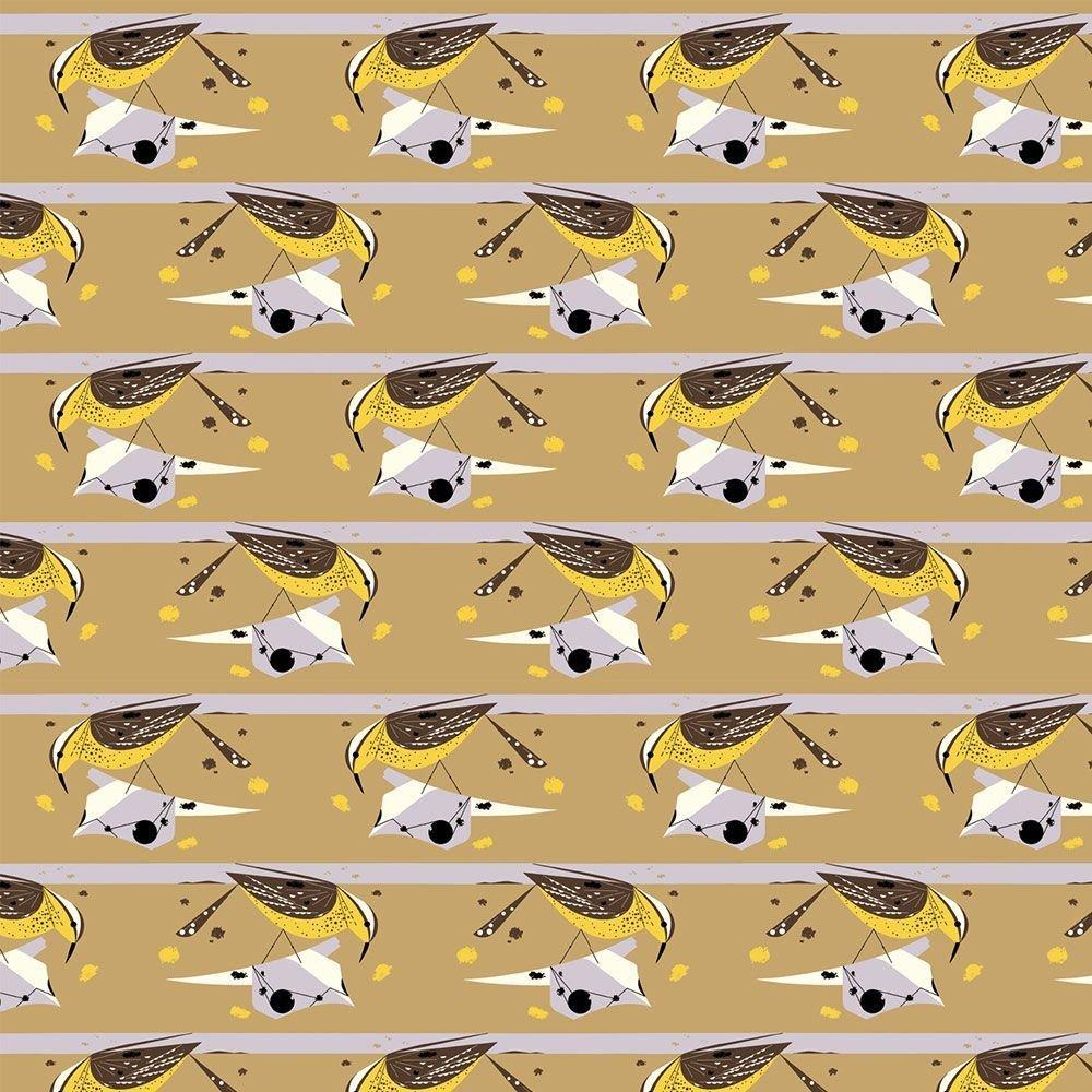Charley Harper Western Birds - Cactus Wren
