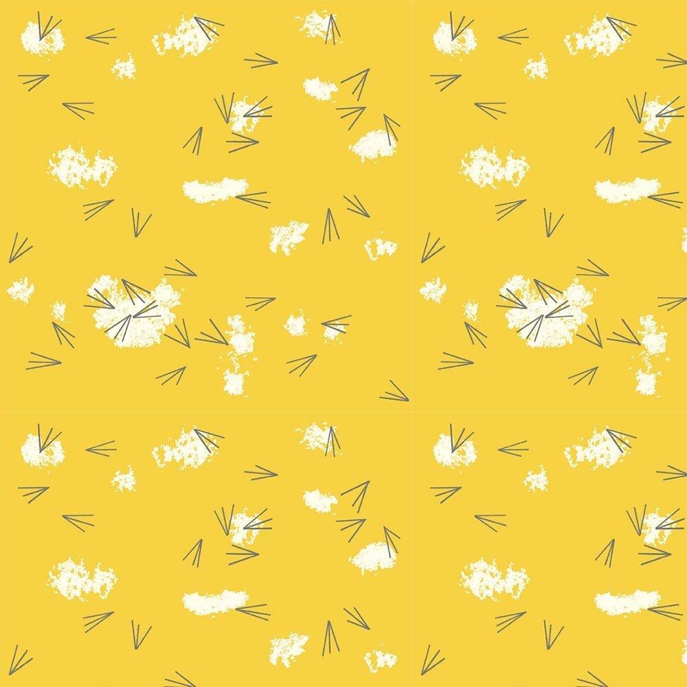 Charley Harper Western Birds - Tracks in Sunny