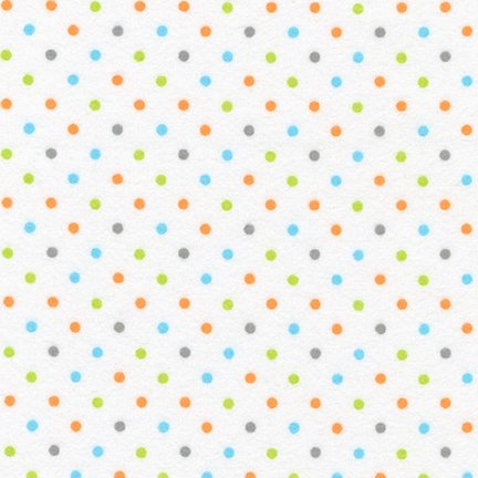 Cozy Cotton Flannel Dots Bermuda