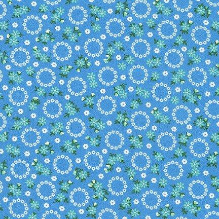 Darlene's Favorites Floral Wreaths Blue