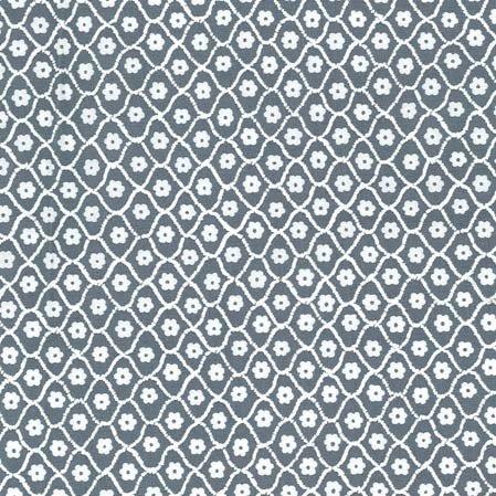 Butterfly Row - Flower Net Gray