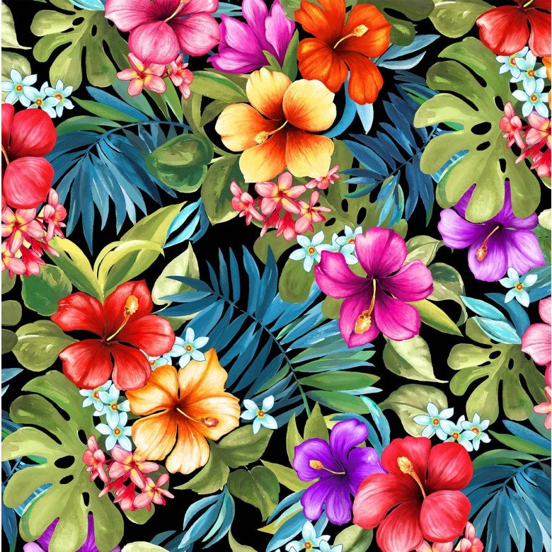 Lost in Paradise Tropical Bliss Black