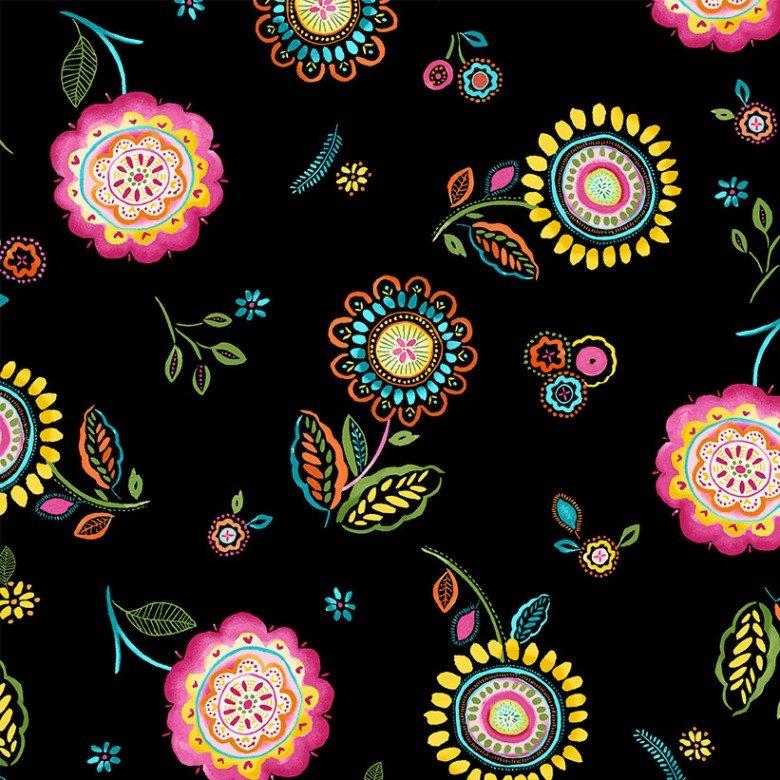 Happy Day Breath of Color Black