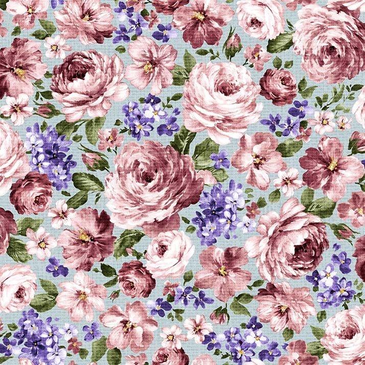 Fragrant Roses Fragrant Flowers Blue