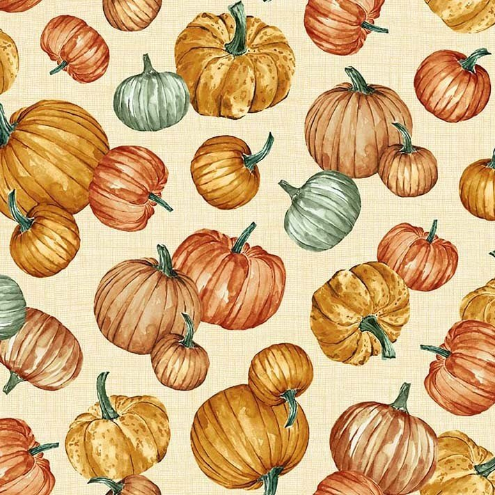 Grateful Harvest Plentiful Pumpkins Cream