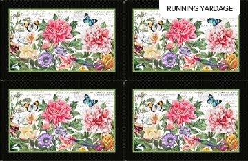 Botanica Placemats Panel (1 row, 13.5)