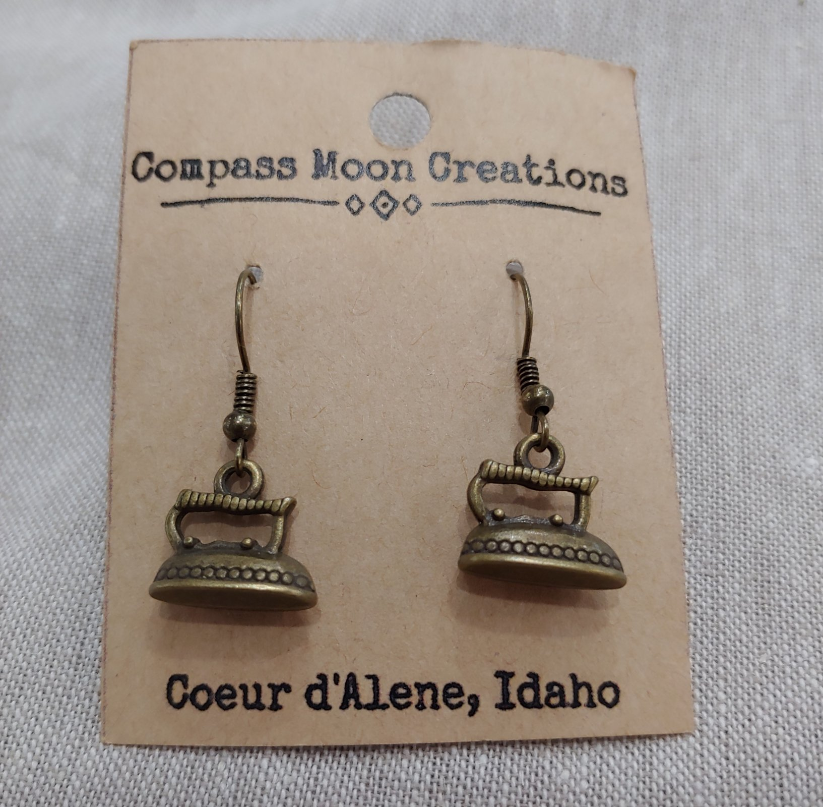 Earrings - Iron Bronze