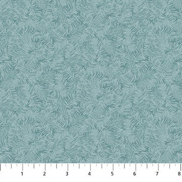 Frosted Woodland Flannel Pine Needles