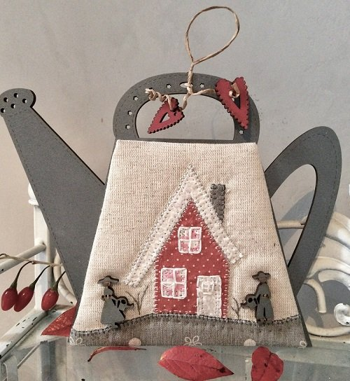 Cross Stitch Pattern Mini Watercan