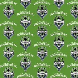 Seattle Sounders Fabric