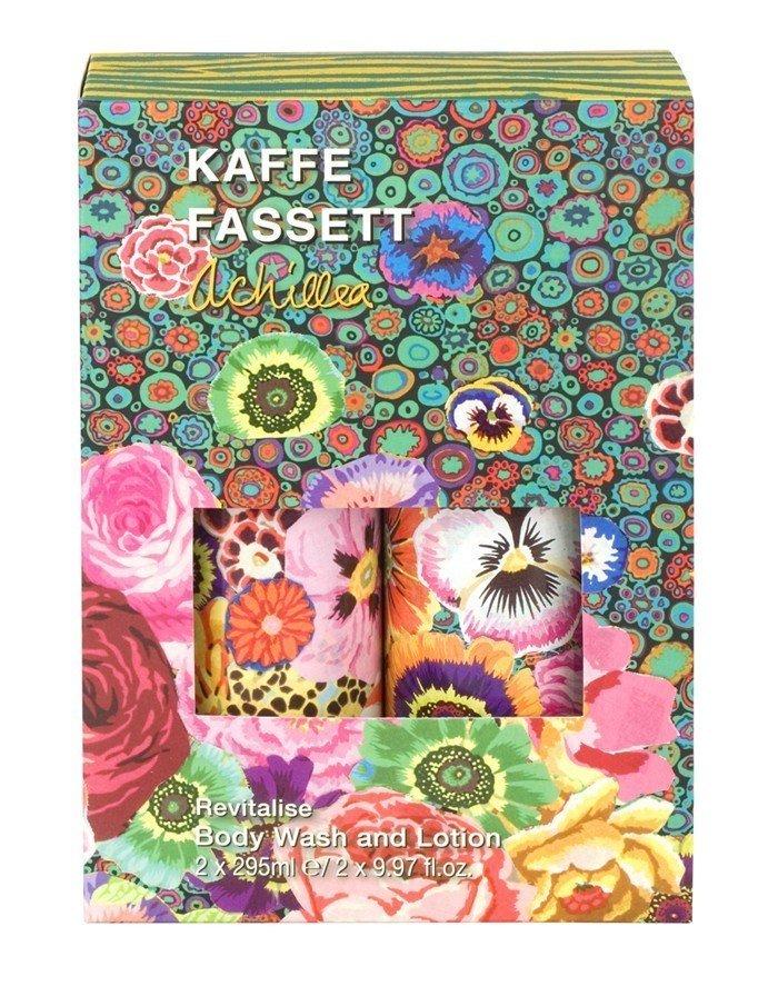Kaffe Fassett Achillea Revitalise Body Wash & Body Lotion 2 X 295ml