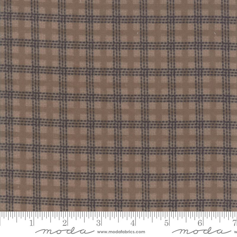 Farmhouse Flannels II Country Check Toast