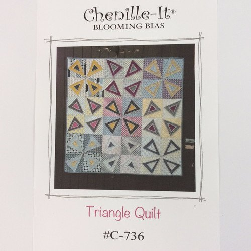 Chenille It - Triangle Quilt