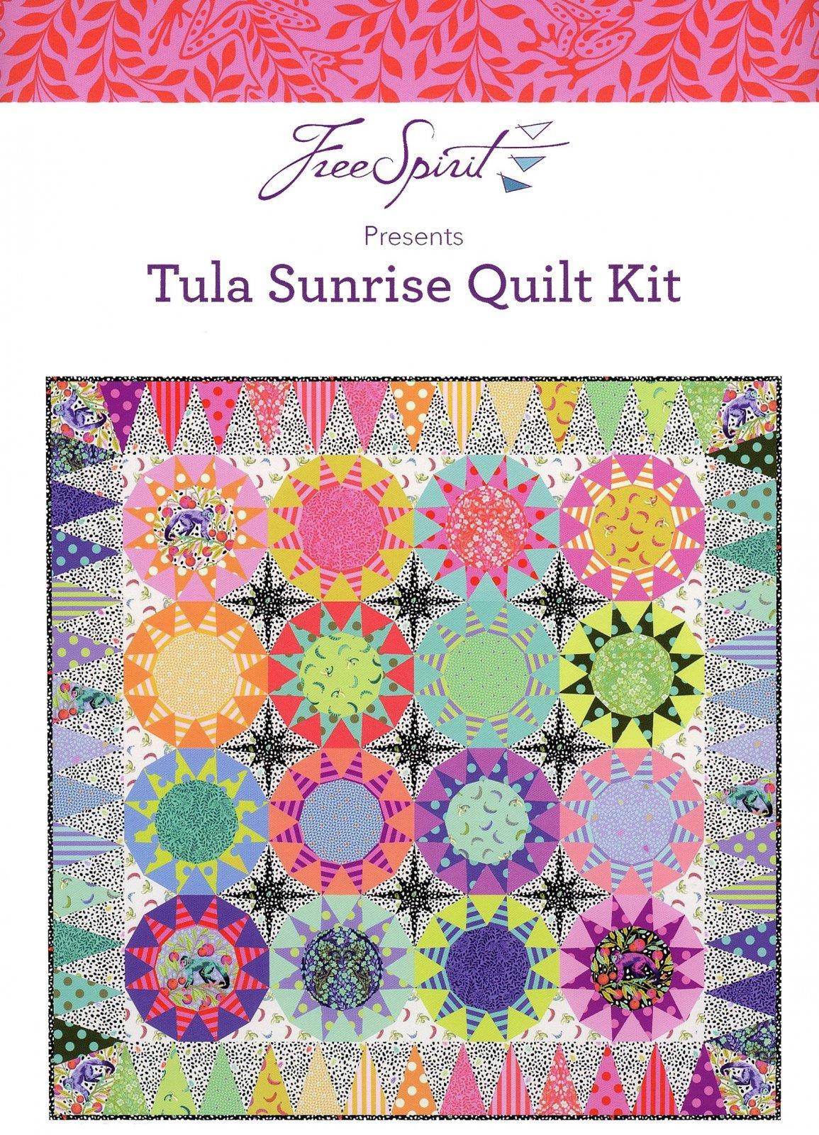 Tula Pink Sunrise Kit featuring Monkey Wrench