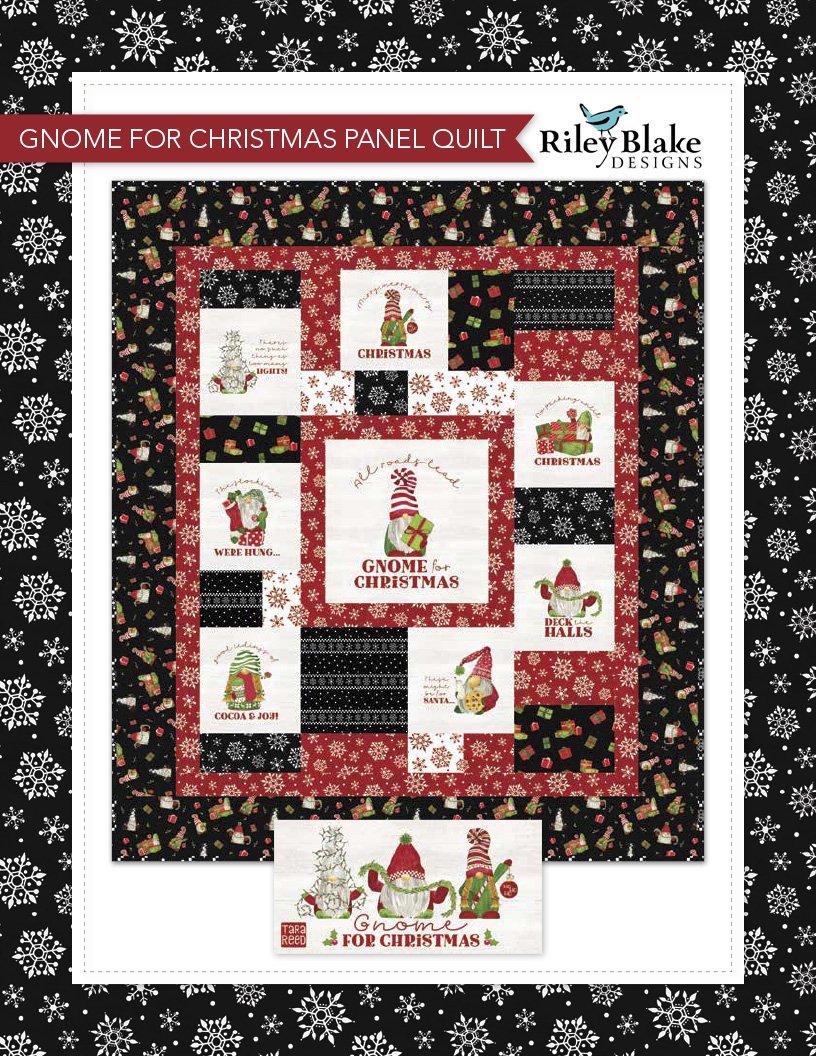 Gnome for Christmas Flannel Kit (49x56.5)