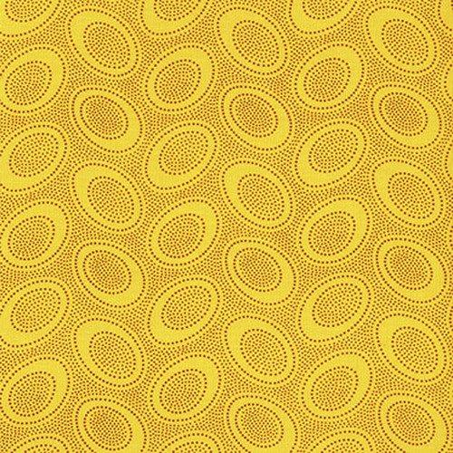 Aboriginal Dot - Gold