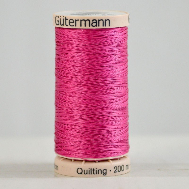 Gutermann Hand Quilting Thread 2955 Hot Pink