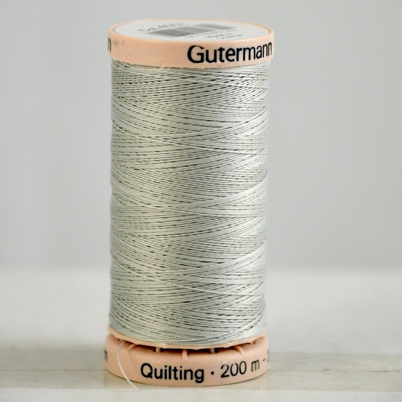 Gutermann Hand Quilting Thread 4507 Lt. Grey