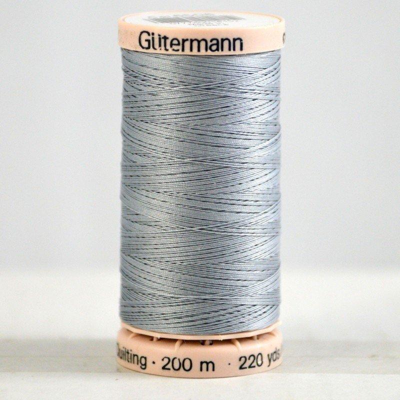 Gutermann Hand Quilting Thread 6506 Med. Grey
