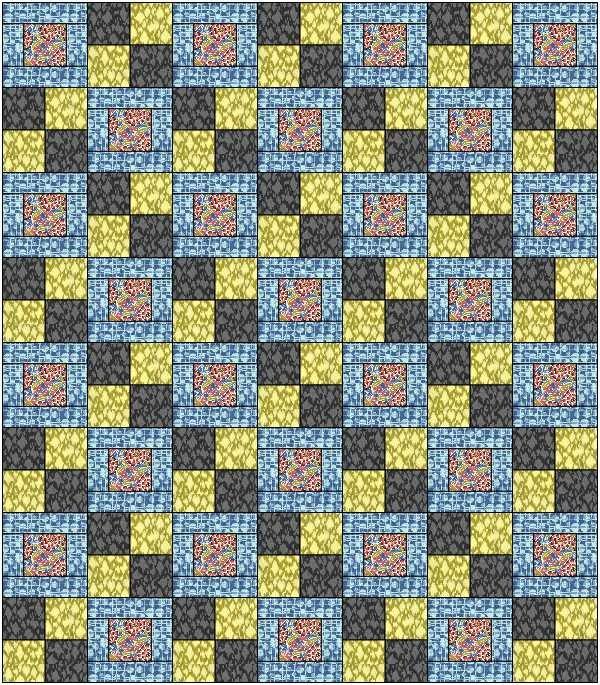 Hopscotch Winkipop BLUE Kit (63x72)