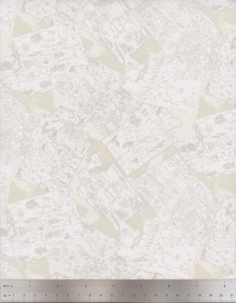 2017 Shop Hop WA Maps Cream
