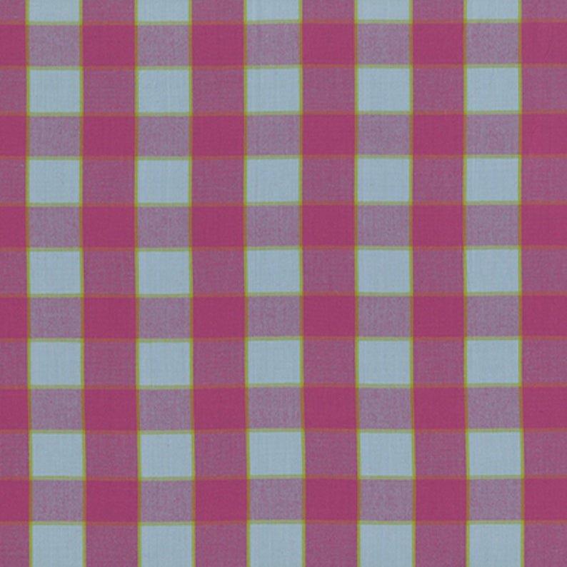 Artisan - Checkerboard Plaid Ikat - Sky