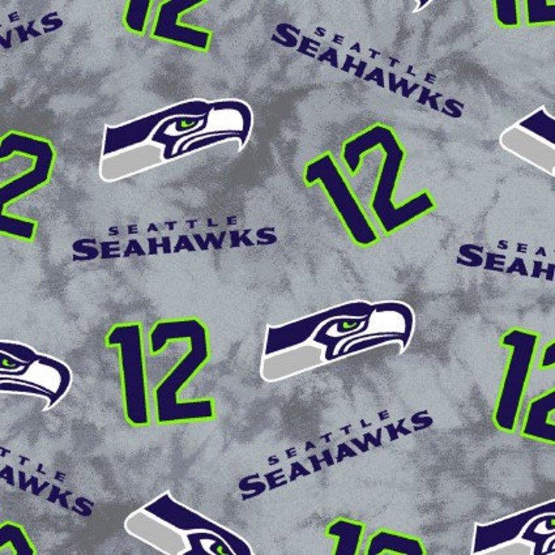 NFL Seattle Seahawks 60 wide - 2017 Gray