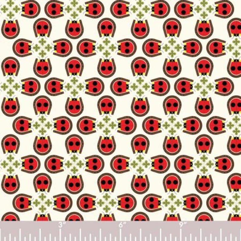 Charley Harper Backyard Lucky Ladybug