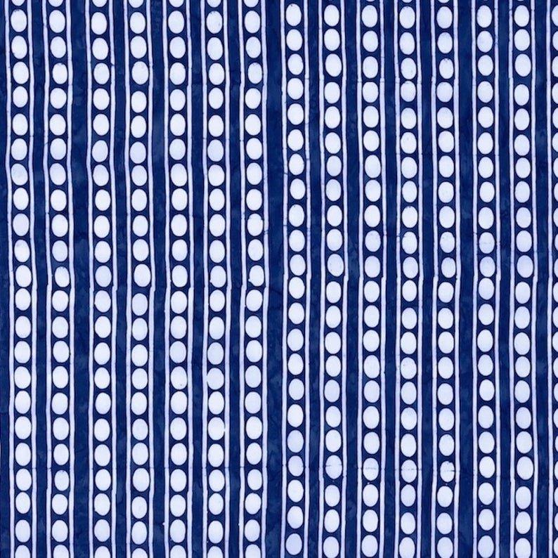 Artisan Batik - Peapods - Blue