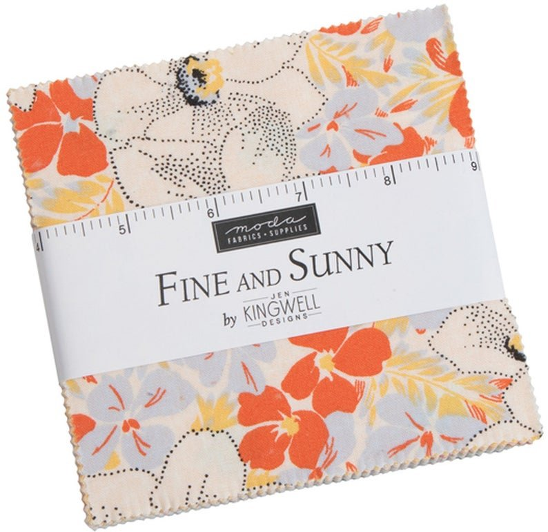 Fine and Sunny Charm Pack (42 pcs)