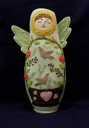 Angel of Summer Wool Doll