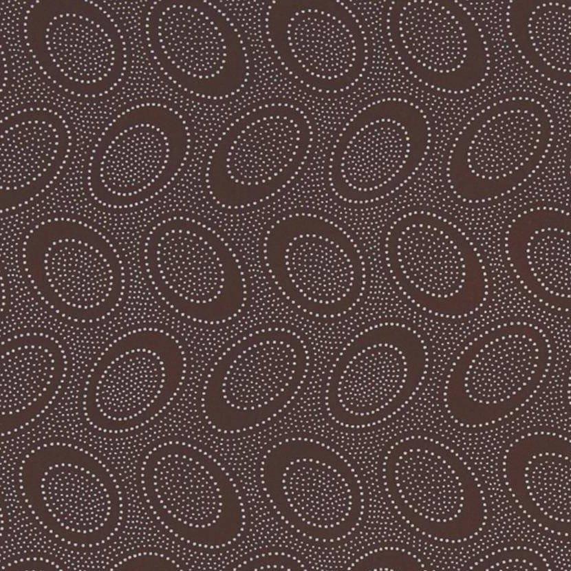 Aboriginal Dot - Chocolate