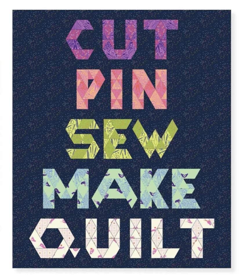 Cut, Pin, Sew, Make, Quilt Kit (44.5 x 52.5)