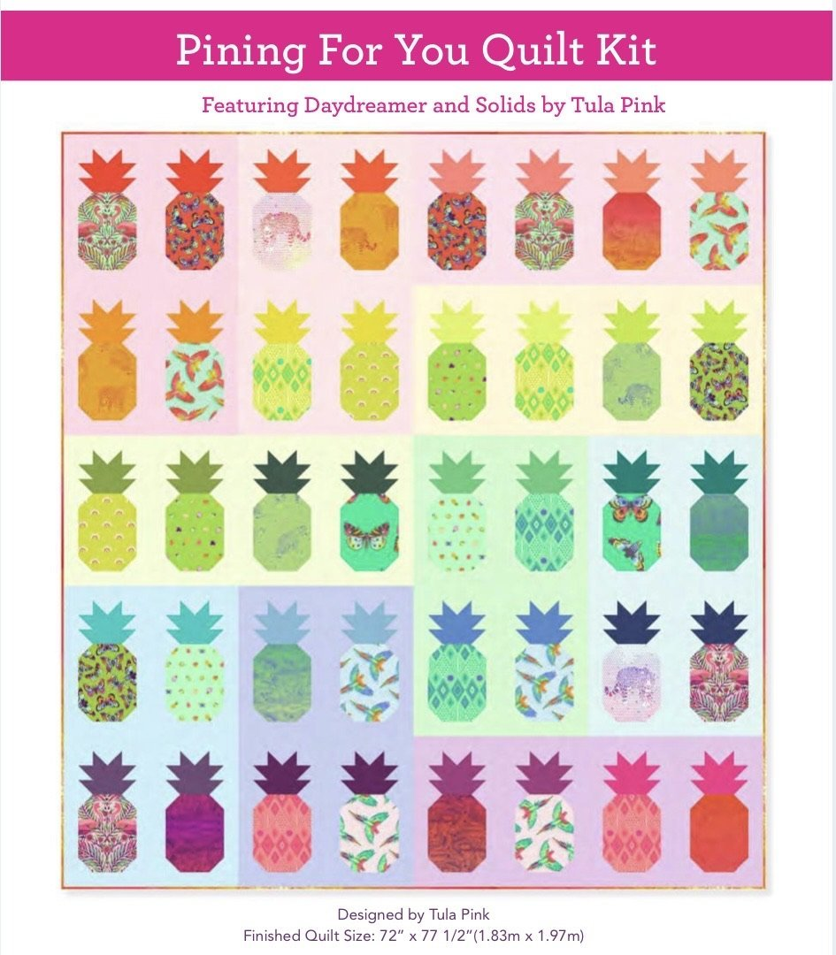PRE-ORDER - Tula Pink Daydreamer Pining for You Quilt Kit
