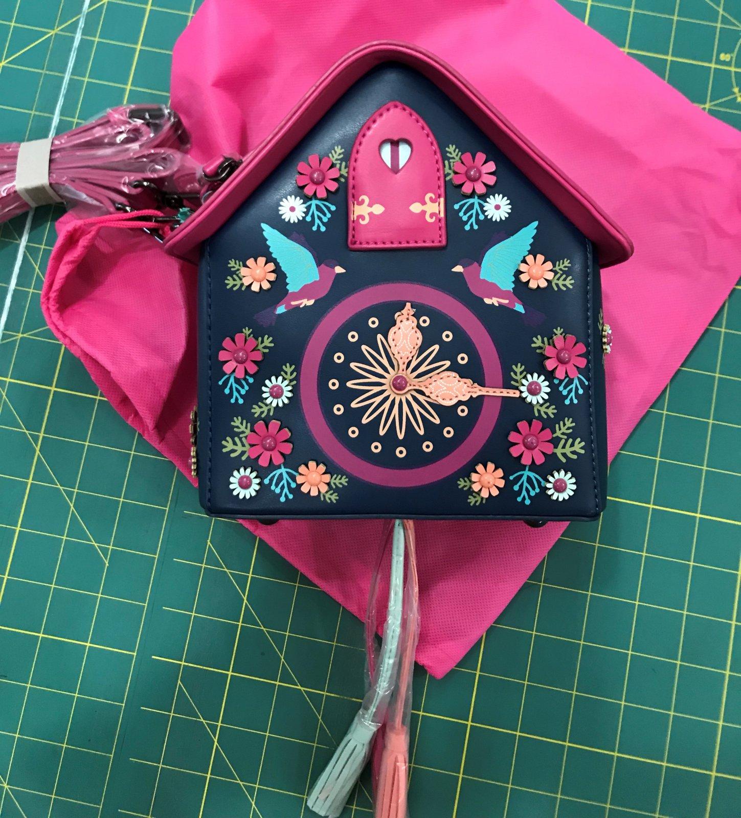 Vendula London - Cuckoo Clock - Box Bag