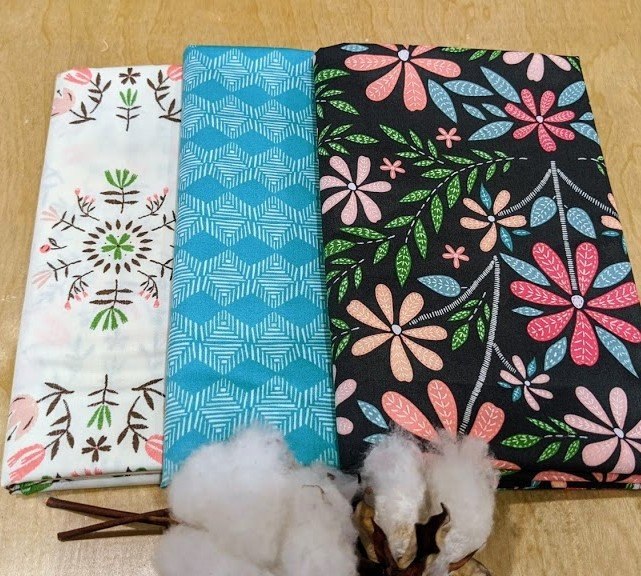 3 Yard Quilt Kit (FABRIC ONLY) - Merriweather Blooms
