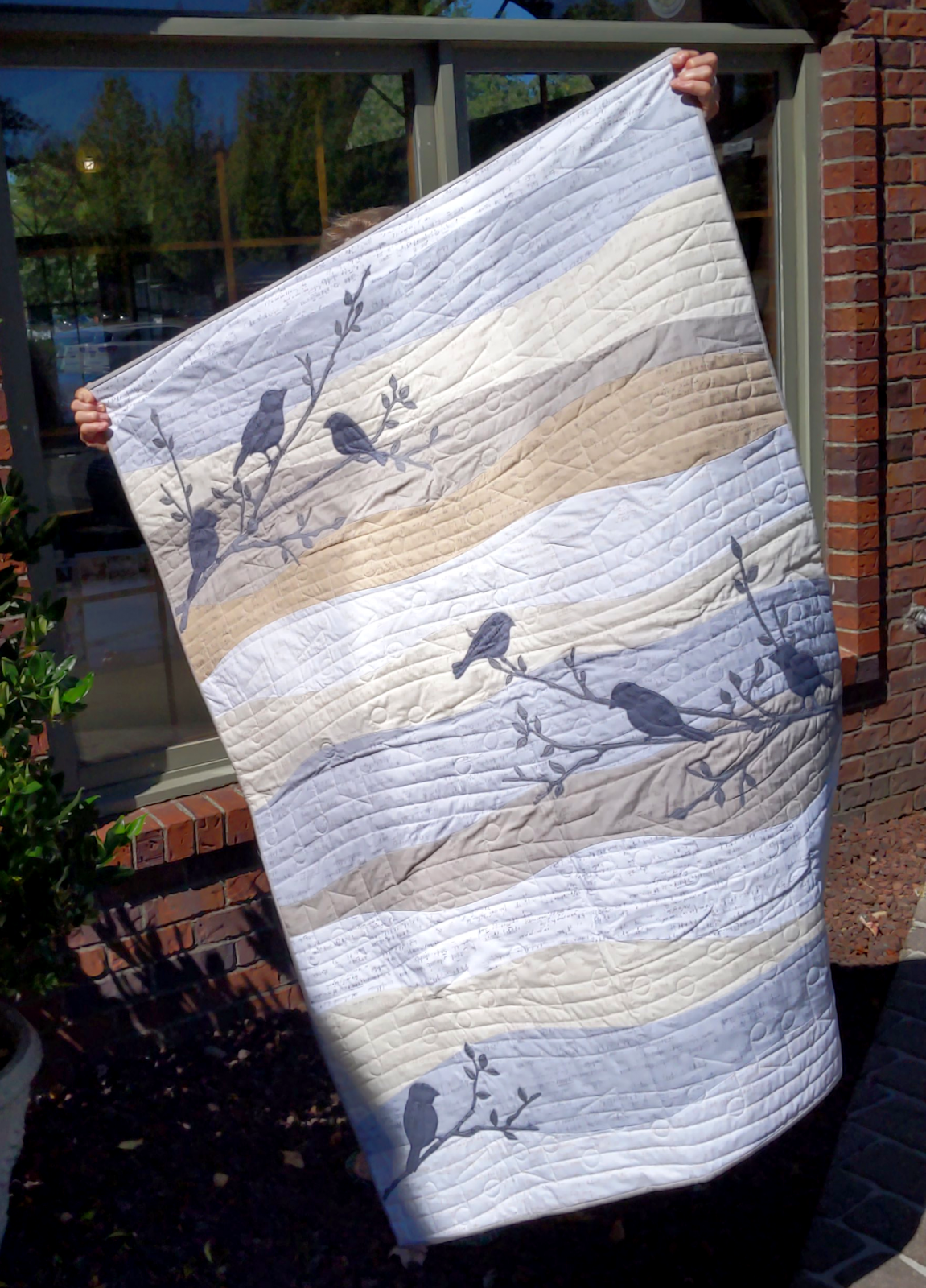 Aria Songbirds Quilt Kit (40x54)