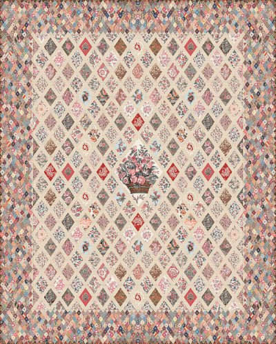Jane Austen Coverlet Kit (80x100) includes Acrylic Template