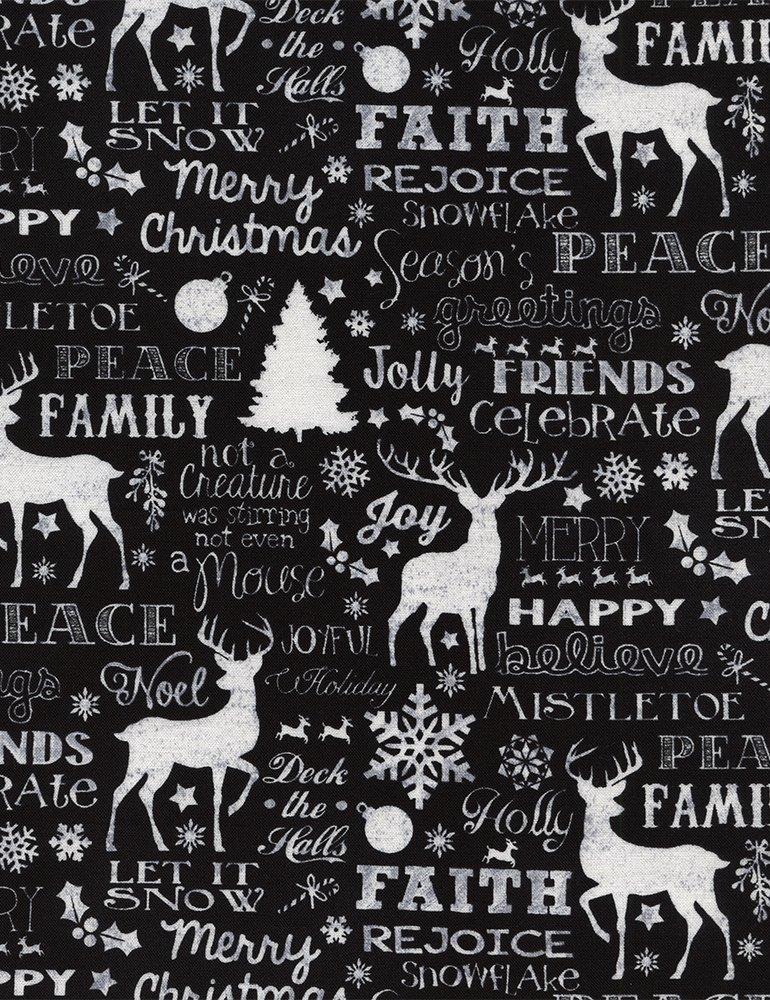Christmas Cabin - Christmas Words