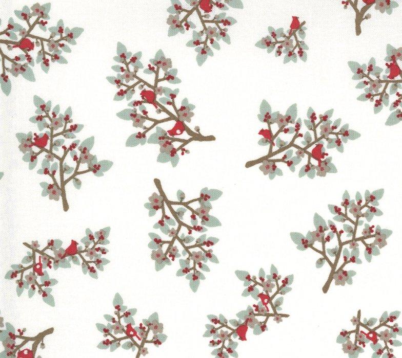Juniper Cardinals Snow