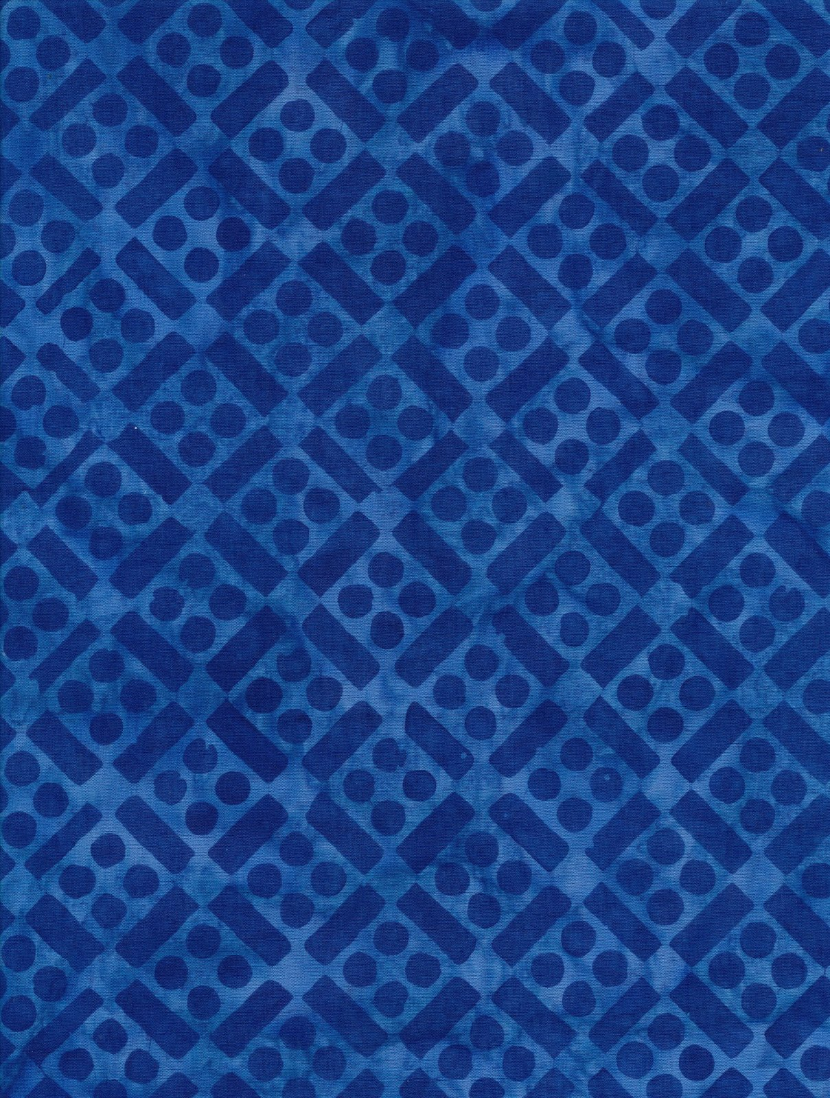 Lake Day Batik Blue 648