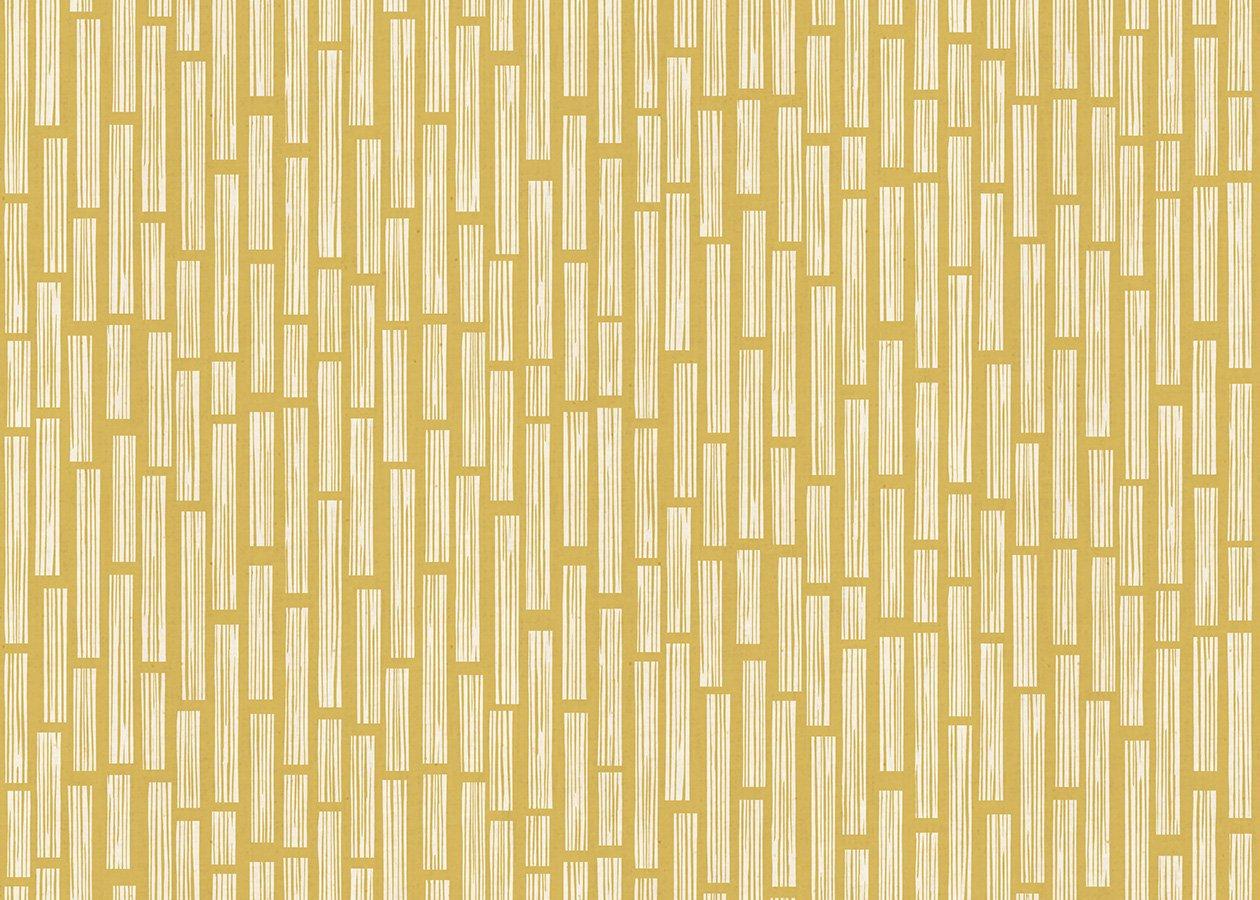 In The Woods Wood Grain Yellow